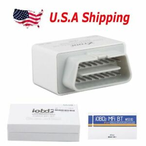 Usa Shipping Iobd2 Bluetooth Obd2 Eobd Auto Scanner For Iphone android
