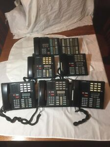 Lot Meridian Switchboard Black Business Office Phones