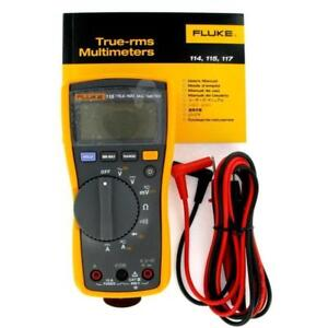 Fluke 115 True Rms Digital Multimeter Count 6000