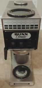 Bunn O Matic 2 Burner Commercial Coffee Maker Model Sls 15