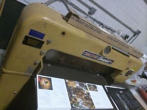 Challenge Guillotine Paper Cutter Model 305 Mc Works Great