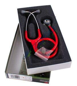 3m 2113r Littmann Classic Ii Pediatric Stethoscope 28 Red Tube