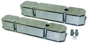 Big Block 383 440 Tall Polished Aluminum Valve Covers Mopar Dodge Plymouth V8