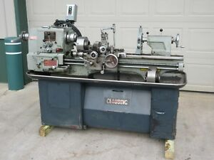 Clausing Colchester 13 x36 Gap Bed Engine Lathe