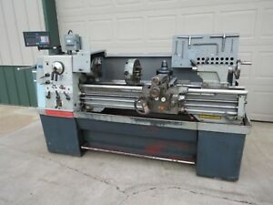 Clausing Colchester 15 x50 Toolroom Engine Lathe W Newall Digital Readout