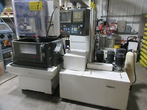 Fanuc Robocut Wire Edm System 0ia s awf Auto Threader Submerged Methods Cnc