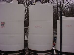 700 Gallon Cone Bottom Poly Tank With Domed Top