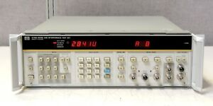 Hp Agilent Keysight 3708a Noise And Interference Test Set