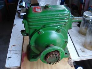 Perfection Gear Speed Reducer Worm Gearbox St3820cc 20 To 1 Ratio 1750 Input