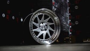 Esr Sr09 18x9 5 18x10 5 22 5x120 Silver Bmw M3 M4 M5 M6 Staggered Set Of 4