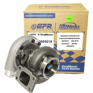 Borg Warner Turbo S252 S200 Sx E P N 12709095019 W T3 63 A R W 90mm Vb Exit