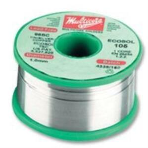 15j3117 Multicore solder 1399075 m Solder Wire Lead Free 0 7mm 500g