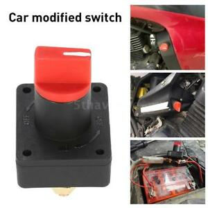 Universal Car Boat Camper 100a Battery Isolator Disconnect Cut Off Switch R4s0
