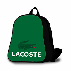 Lacoste 3 Custom Backpack Bag Kids