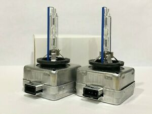 2new D1s Xenon Hid Headlight Bulbs 4300k Oem 85415 85410 66144 66140 63217217509