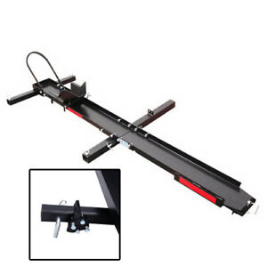 2 Piece 500 Lbs Hitch Mounted Steel Motorcycle Carrier Motorcycle Carrier