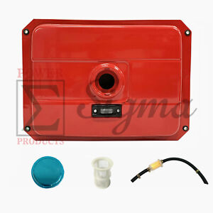 New 4 Gallon Red Fuel Tank Fits Most Open Frame 5 7kw Diesel Generator