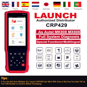 Autel Maxidiag Md808 Obd2 Auto Car Diagnostic Scanner Obdii Code Reader 4 System