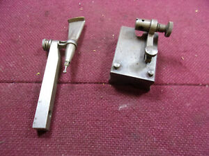 Lufkin Indicator Base Test Indicator No 521 No 199 Lot Of 2 Loc6466