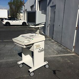 Ge Case Stress Test System radisys Crt Monitor With Treadmill