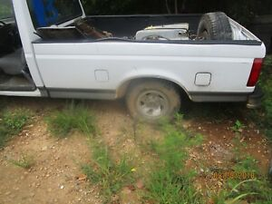 87 97 Ford F 150 250 350 Pickup Dual Tank Truck Bed Box 8 Foot Long White Oem