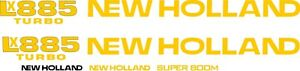 New Holland Lx885 Skid Steer Lx 885 Replacement Decal Sticker Kit Made In Usa