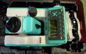 Nikon Total Station Dtm 520 Surveying Equipment Not Complete Free Shipping