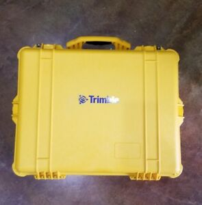 Trimble Yellow Base Station Pelican Case brand New free Shipping