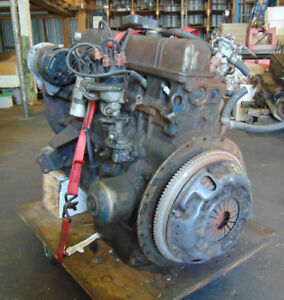 Triumph Tr6 1970 Complete Engine With Accessories Thrust Washers Intact