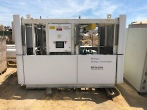 Air Products Hydrogen Compressor With Storage Tanks