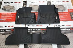 Weathertech Floor Liner For Bmw X5 F15 X6 F16 Front And Rear Floor Mats Set