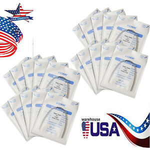 Usa 200x Orthodontic Dental Super Elastic Niti Round Arch Wire Ovoid 012 Lower