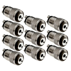 10x Dental High Speed Handpiece Turbine Adapter Hole Changer 4 To 2 Hole Coupler