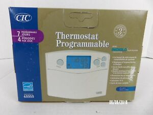 Climate Technology Corporation 43355 Thermostat Batteries Not Included Nos