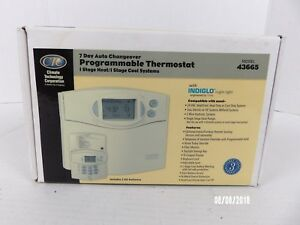 Climate Technology Corporation 43665 Thermostat Batteries Not Included Nos