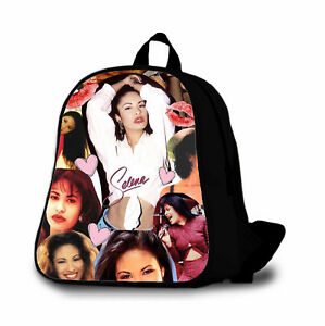 Selena Quintanilla 1 Custom Backpack Bag Kids