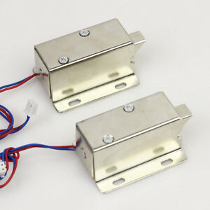 Small Electric Mortise Lock For Drawer Electronic Gate Cabinet 12v 24v 350ma