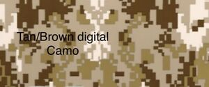 Mydipkit Hydrographic Tan Brown Digital Camo