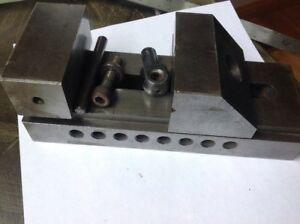Toolmaker Machinist Grinding Vise 3 Wide Jaws
