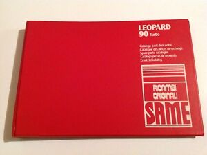 Same Leopard 90 Turbo Tractor Parts Catalog