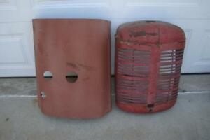 Ih Farmall A Tractor Grill And Hood Needs Restored