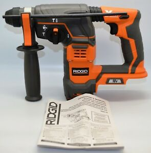 Ridgid 18 volt Cordless 7 8 In Sds plus Rotary Hammer tool Only R86710 New