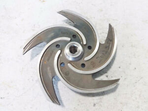 Goulds Pumps 5 vane 11 1 4 Stainless Steel Impeller 53970