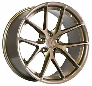 19x8 5 19x9 5 35 Aodhan Ls007 5x120 Bronze Wheel Fit Bmw 645 650 760 Staggered