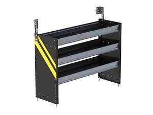 Ranger Design S3 Rs48 3 S3 Series Cargo Van Shelving 48 Wide 3 Trays