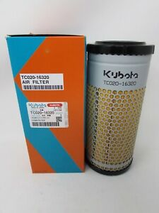 Genuine Kubota Air Filter Element Tc020 16320