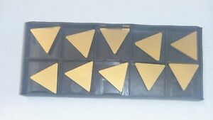 New 10pcs Tpg 432 Tin Coated Carbide Inserts