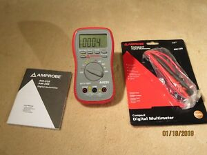 Amprobe Am 220 Industrial Digital Multimeter 600v 10a