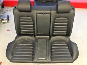 2009 2012 Volkswagen Cc Rear Lower And Upper Seat Cushion Leather Black Oem