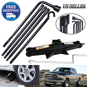 For 2015 2014 Dodge Ram 1500 Spare Tire Tool Kit Scissor Jack W Speed Handle